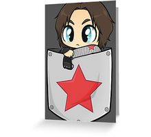 Pocket!Bucky Greeting Card