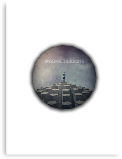 Imagine Dragons - Night Visions Polygon by James Frewin