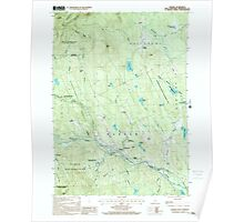 USGS TOPO Map New Hampshire NH Warner 329841 1998 24000 Poster