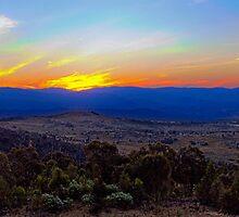 Brindabella Sunset by Brett Norman