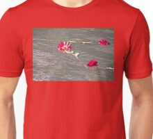 Floating Flowers Unisex T-Shirt