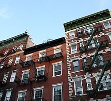 Greenwich Village - Historic Buildings by Amanda Vontobel Photography