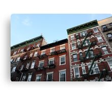 Greenwich Village - Historic Buildings Canvas Print