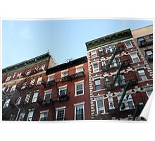 Greenwich Village - Historic Buildings Poster