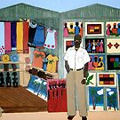 Market Stall in Dominican Republic - All products by Shulie1