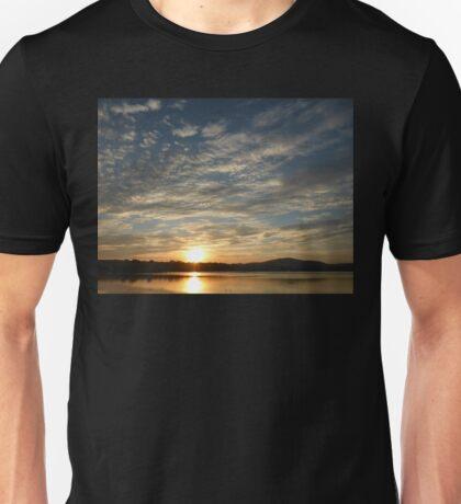 Inch Island Winter Sunset Unisex T-Shirt
