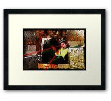 Babezilla Framed Print