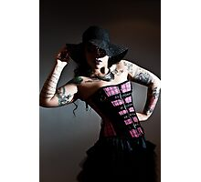 Hats and Tatts Photographic Print