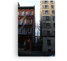 Hidden New York (2) Canvas Print