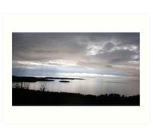 Sunset over Lake Superior Art Print