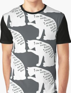 I Can Be Social Graphic T-Shirt