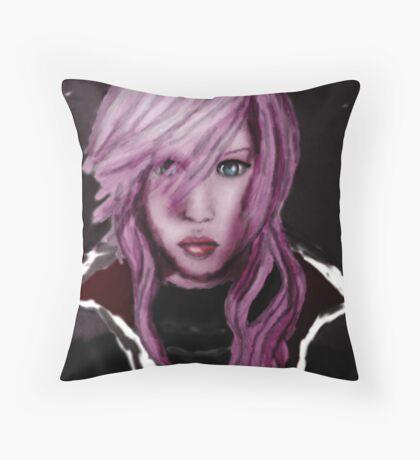 Lightning Returns Throw Pillow