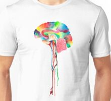 Colorful Brain Unisex T-Shirt