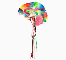 Colorful Brain Unisex T-Shirt