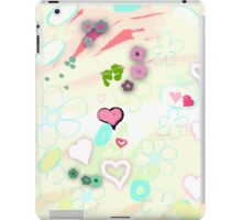 Abstract landscape - Thinking of you iPad Case/Skin