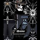 Broken, Rupture, Damage iPhone 5, iphone 4 4s, iPhone 3Gs, iPod Touch 4g case by www. pointsalestore.com