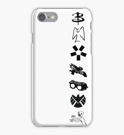 Whedonverse Logos iPhone Case/Skin