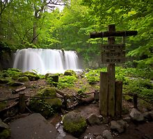 Choshi Ootaki Waterfall, Oirase Gorge, Japan by Marc Maschhoff