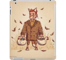 Fantastic Mr Fox Trick or Treat iPad Case/Skin