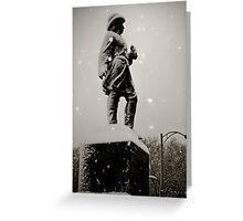 Prospect Park Statue  Greeting Card