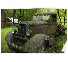 Vintage Old Dodge Poster