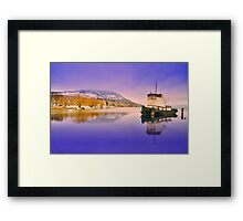 The First Day of the New Year Framed Print