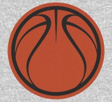 Basketball Graphic Design – Orange Texture by cpotter