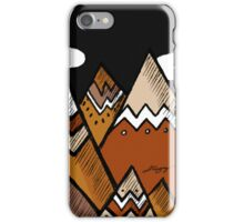 Dusty Mountain 2 iPhone Case/Skin