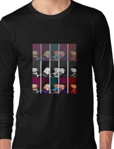 Doctor Who and his mighty companions Long Sleeve T-Shirt