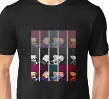 Doctor Who and his mighty companions Unisex T-Shirt