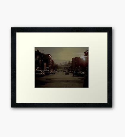 Williamsburg Brooklyn Framed Print