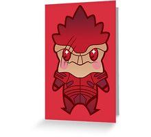 Battle master Greeting Card