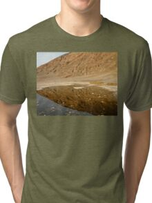 Badwater Basin, Death Valley Tri-blend T-Shirt