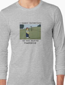 Lee Carvello's Putting Challenge Long Sleeve T-Shirt
