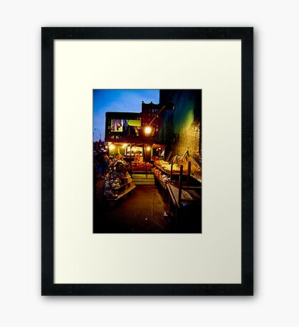 Broadway and Lafayette  Framed Print