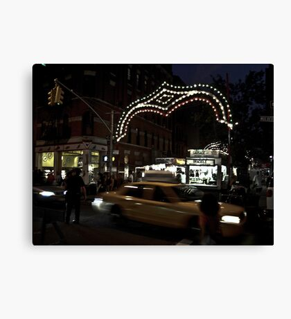 San Gennaro, Little Italy NYC Canvas Print