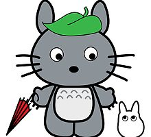 Hello Totoro by Rainey April