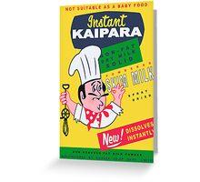 Kaipara Dairy Co-op Chef Card Greeting Card