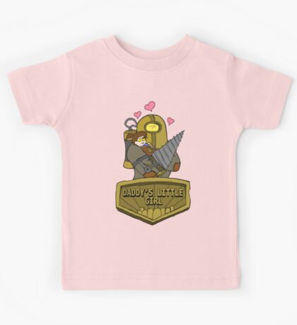 Daddy's Little Girl Kids Tee