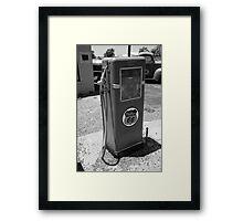 Route 66 Gas Pump Framed Print