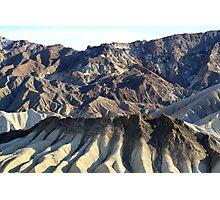 Zabriskie Point Death Valley,Death Valley National Park,California Photographic Print