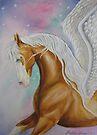 Skyhorse Aurora by louisegreen