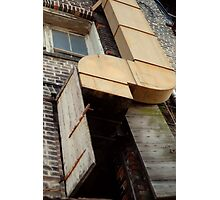 Ductwork in a Southern Town Photographic Print