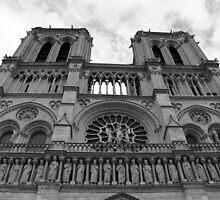 Notre Dame by Rosalee Lustig