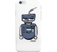 Sad Robot iPhone Case/Skin