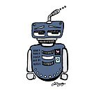 Sad Robot by Jenna Gregory
