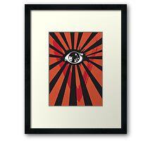 VENDETTA alternative movie poster eyeball print Framed Print