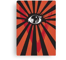 VENDETTA alternative movie poster eyeball print Canvas Print