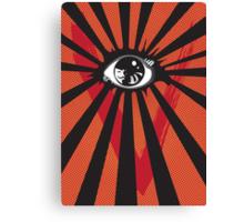 VENDETTA alternative movie poster eyeball print Canvas Print