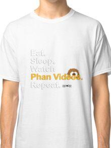 Eat, Sleep, Watch Phan Videos, Repeat {FULL} Classic T-Shirt